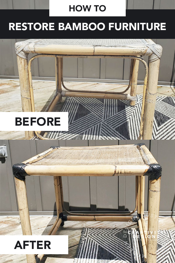 How to Restore Bamboo Furniture (Repair Rattan)