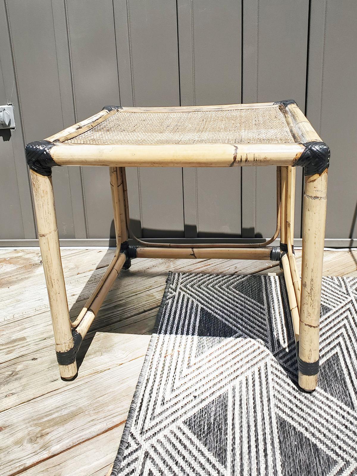 how to restore bamboo furniture and repair rattan