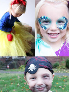 Disney Themed Costume Ideas including Snow White, Little Mermaid, and Pirates of the Carribean
