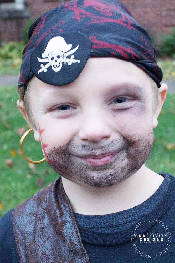 pirate makeup for halloween costume