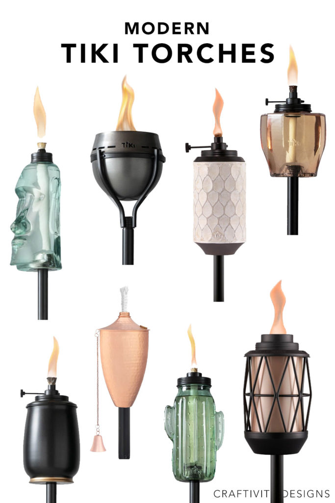8 Modern Tiki Torches for Decks and Patios