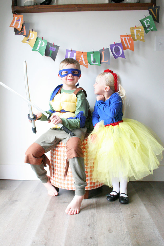 DIY Teenage Mutant Ninja Turtle Costume Leonardo