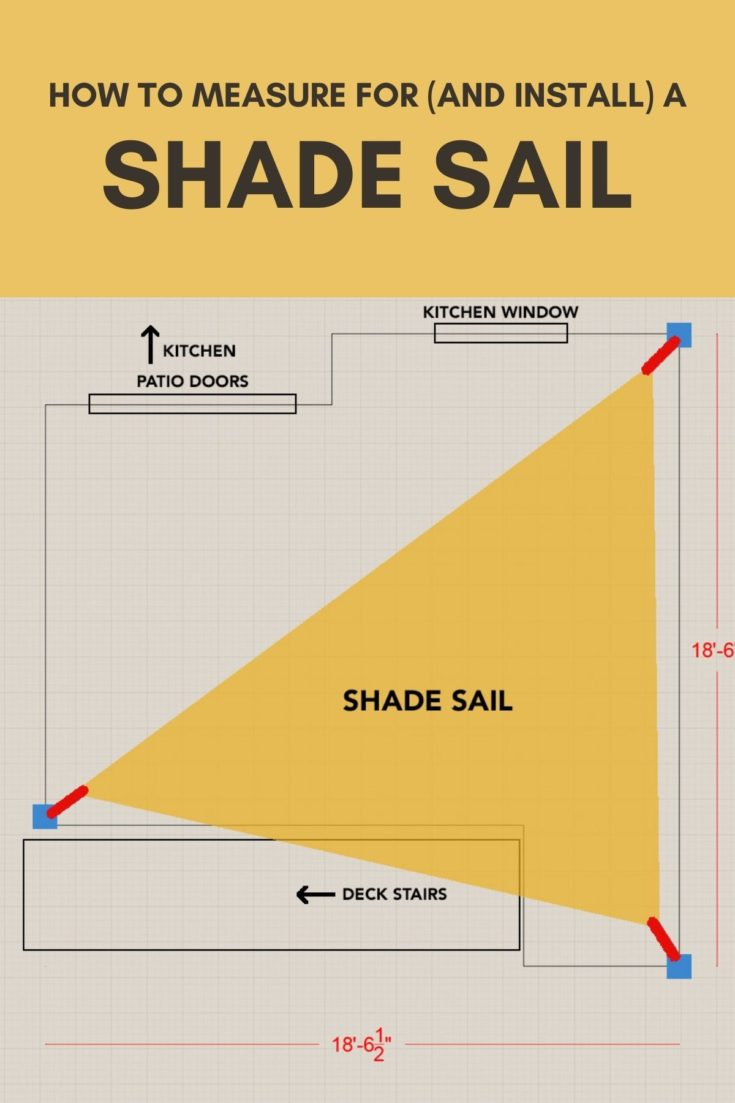 How to Measure for a Shade Sail
