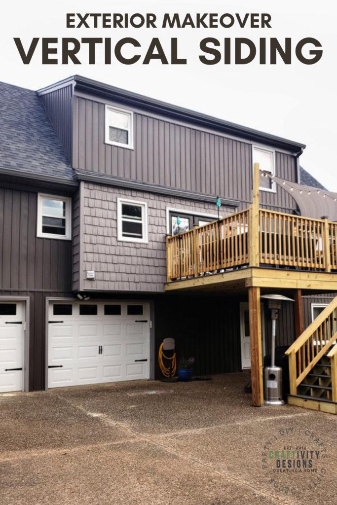 vertical siding exterior renovation