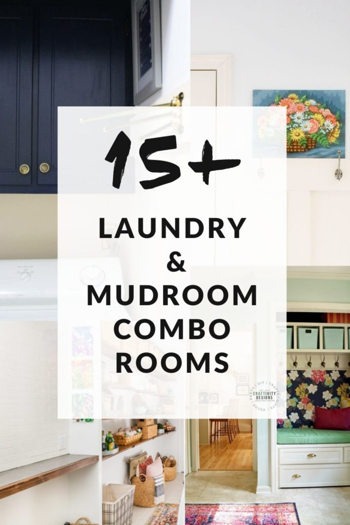 15+ Laundry and Mudroom Combo Ideas with Example Rooms!
