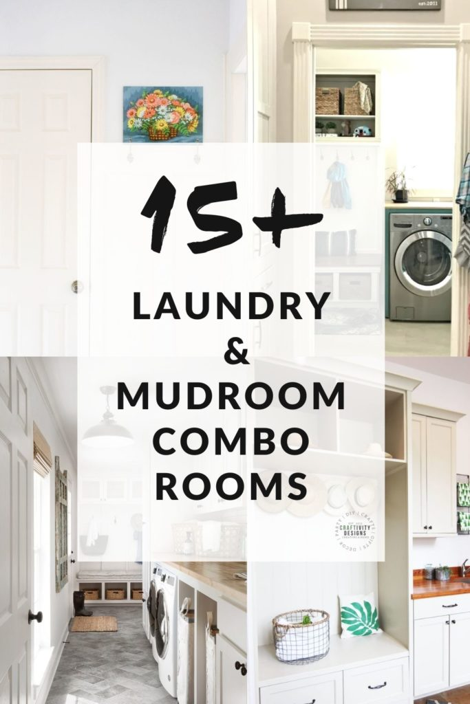 15 Examples of Mudroom and Laundry Combo Rooms