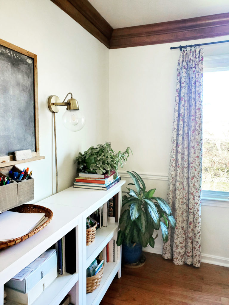 Dining Room with a Mix of Stained and Painted Trim (also a Homeschool Room)