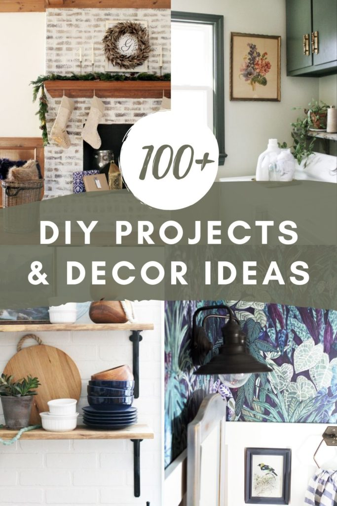 100+ DIY Projects and Decor Ideas for Interiors and Exteriors