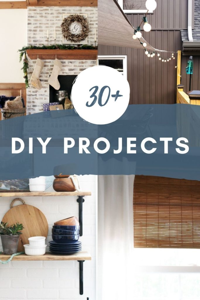 30+ DIY Projects for Interiors and Exteriors