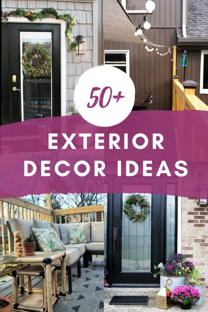 50+ Exterior Decor Ideas