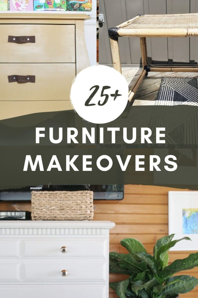 25+ Furniture Makeovers