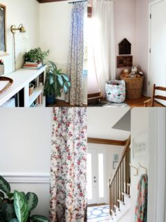 examples of rooms with a mix of wood and white trim