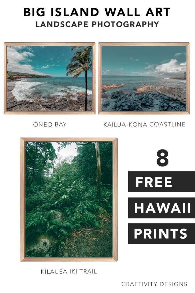 8 Free Hawaii Prints - Big Island Art Prints