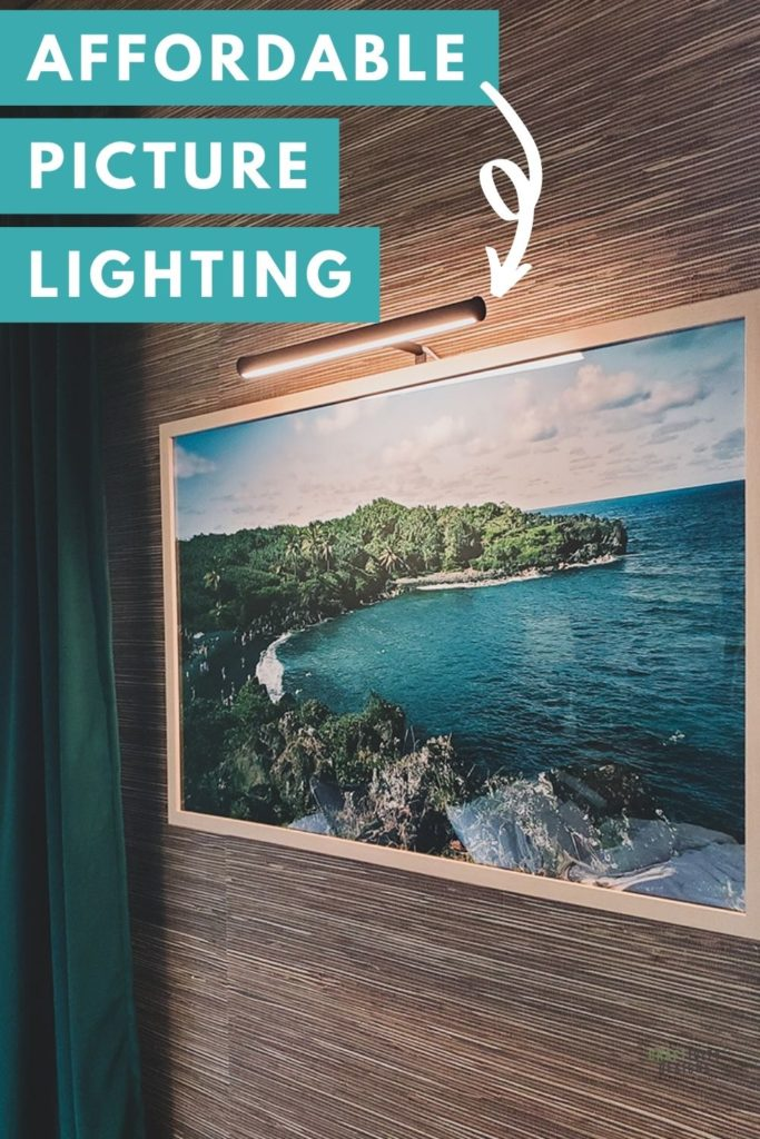 Affordable Picture Light over Hawaiian Art
