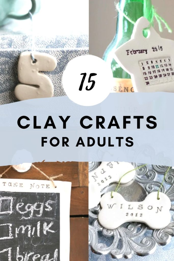 15 clay ideas for adults - polymer clay