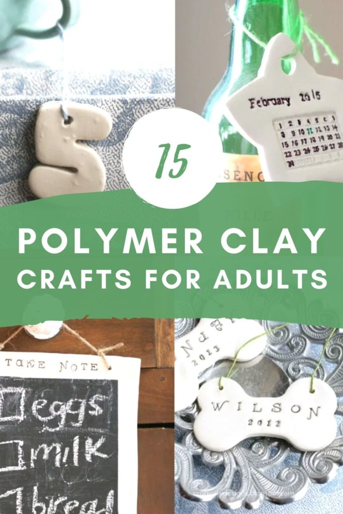 15 polymer clay ideas for adults