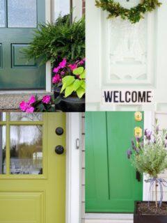 12 Green Front Door Ideas