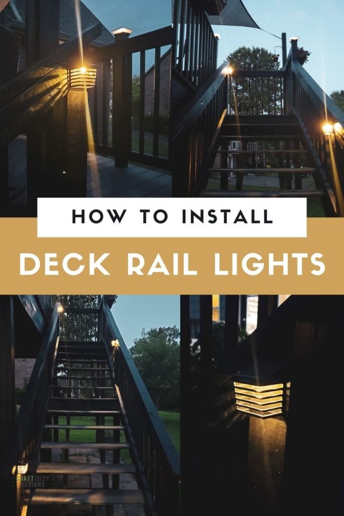 How to Install Deck Rail Lights