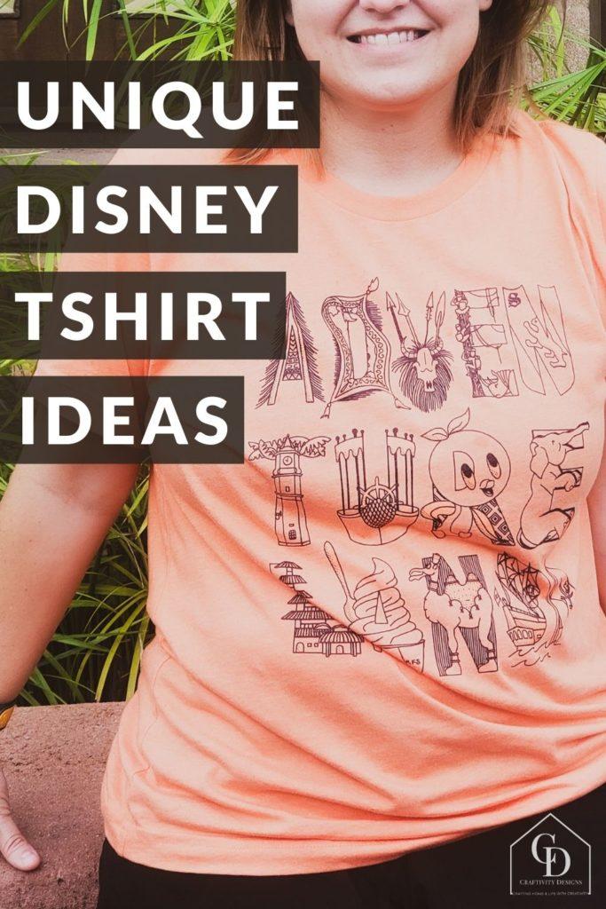 unique disney shirt ideas