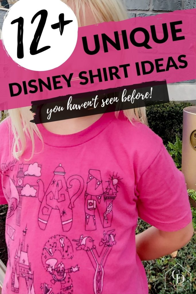 12+ unique disney shirt ideas you haven't seen before!