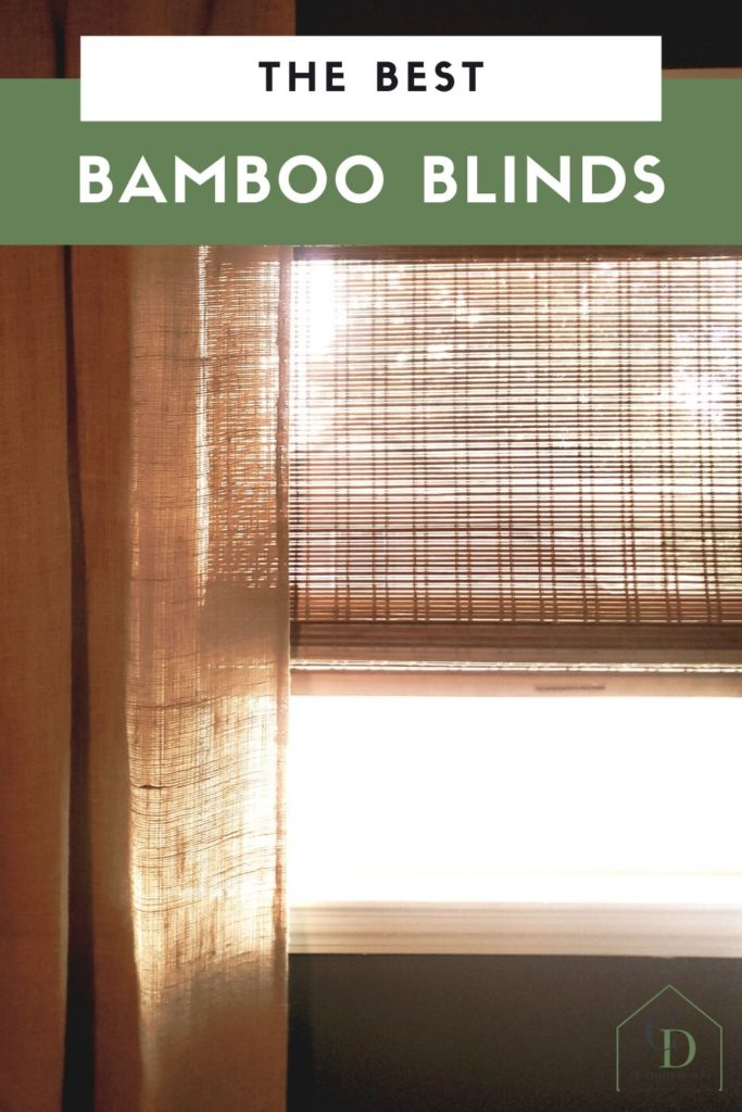 the best bamboo blinds, cordless